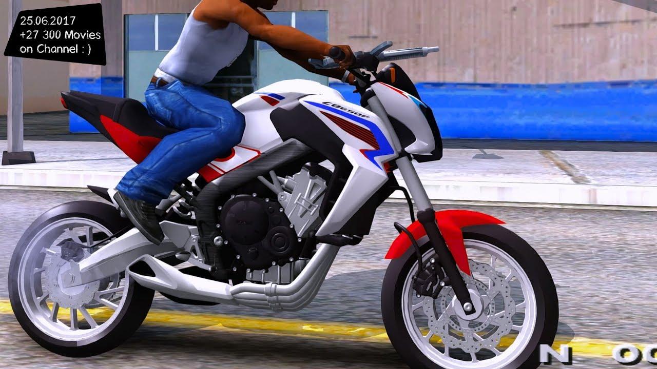 honda cb    enb top speed test gta mod future youtube