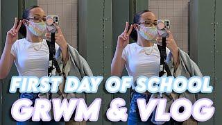 First Day of COLLEGE GRWM + Vlog *college freshman*