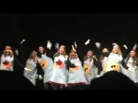 UNA ZETA TAU ALPHA step sing 2012