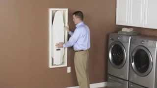 Install A Stow Away In-wall Ironing Board