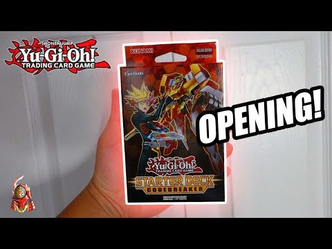 Yu-Gi-Oh! Starter Deck: Codebreaker TCG OPENING 2018! + REVIEW! NEW CYBERSE SUPPORT 2018!