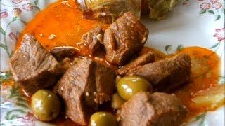 видео Тушеная баранина с картошкой по-гречески