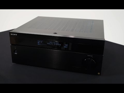 New At CEDIA: Sony's STR-ZA5000ES (130 Watts X 9 Channel) Receiver