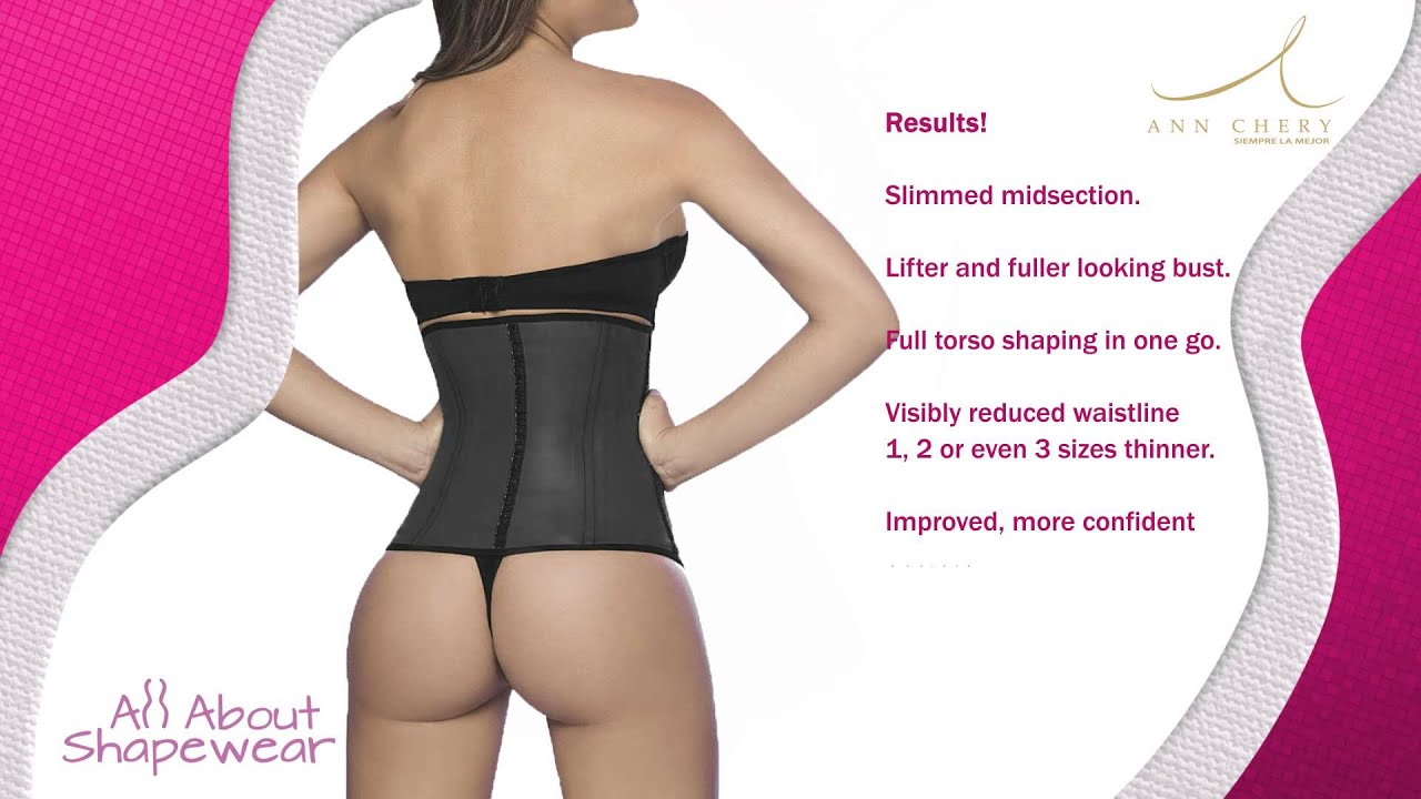 a6c222cd1d89d Waist Cincher Classic AnnChery 2025 Latex Fajas Colombianas   All About  Shapewear