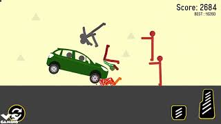 Stickman Turbo Dismount : Mad Destroyer | New Stickman Game - Android GamePlay#5 HD