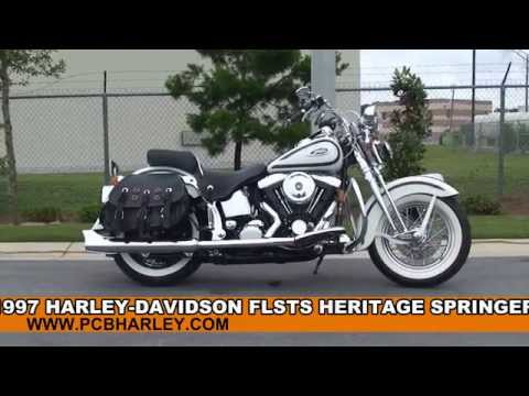 Used 1997 Harley Davidson Heritage Softail Springer Motorcycles for sale - Chipley, FL