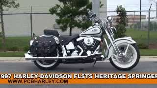 Used 1997 Harley Davidson Heritage Softail Springer Motorcycles for sale - Chipley, FL
