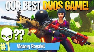 One of iTemp Plays's most viewed videos: Our BEST Duos Game EVER! (Highest Kills!) - iTemp + Ali-A Fortnite Duos!
