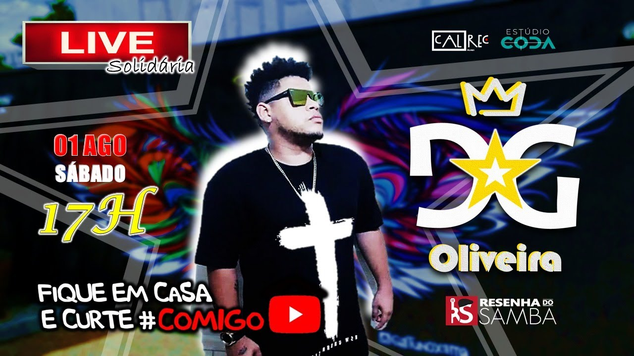 Live do DG Oliveira #Fiqueemcasa e Curte #Comigo
