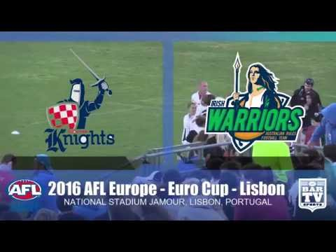 2016 AFL Europe - Euro Cup Men's Final - Ireland v Croatia
