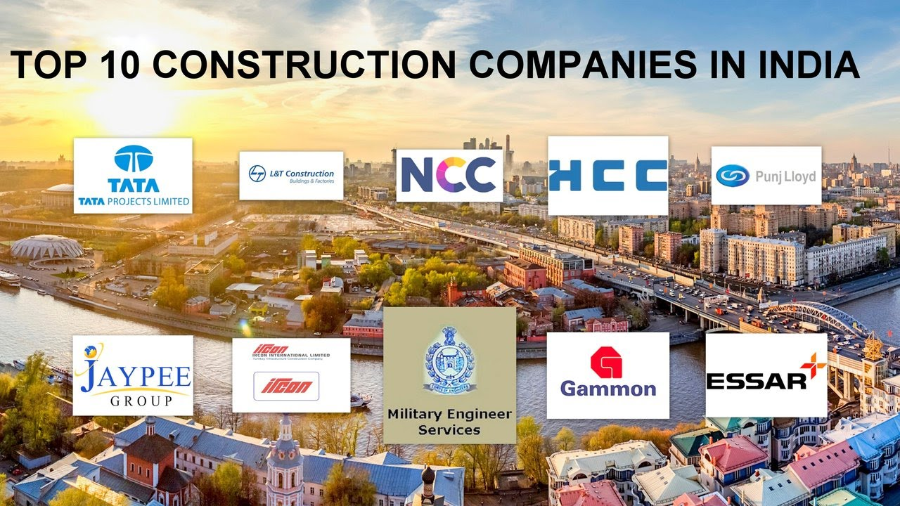 Top 10 Construction Companies In India Youtube