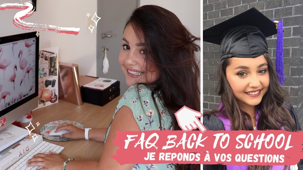📚 BACK TO SCHOOL → FAQ SUR MA SCOLARITÉ : job étudiant, emploi du temps...👩🏻‍🏫 ⎜Merry