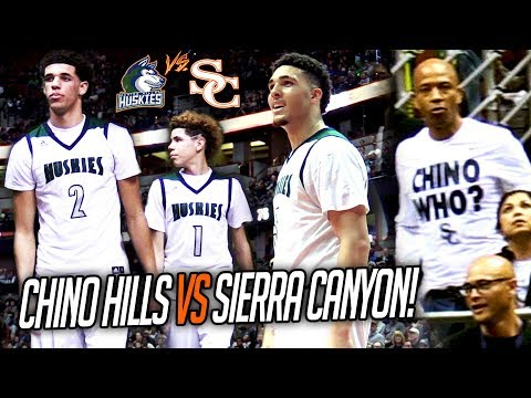 Lonzo, LaMelo & LiAngelo Each GO OFF! Chino Hills vs Sierra Canyon CHAMPIONSHIP GAME FULL HIGHLIGHTS