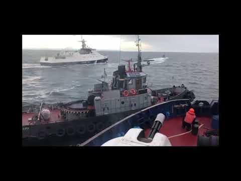 Нарушать наши границы нельзя. В Чёрном море задержаны украинские военные корабли