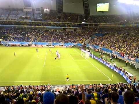 日本 0-0 ギリシャ FWC 2014 / Japan 0-0 Greece / Final pressure