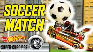SUPER CHROMES® SOCCER PLAYOFFS | Hot Wheels
