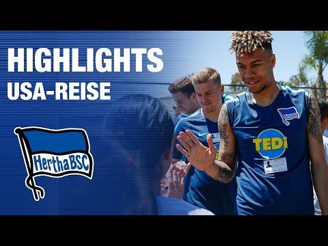 HIGHLIGHTS USA-REISE - #TEARDOWNWALLSTOUR - Hertha BSC - Berlin