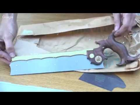 Unboxing the Drive Shaft and a Hand Saw
