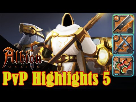 Albion Online - PvP Highlights 5 - Carving Sword, Deathgivers And More!