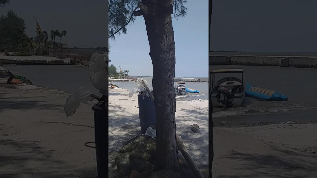 Pantai bali lestari medan - YouTube