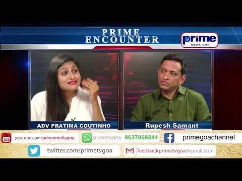 ADV PRATIMA COUTINHO in Prime Encounter Daily With Rupesh Samant EP 8