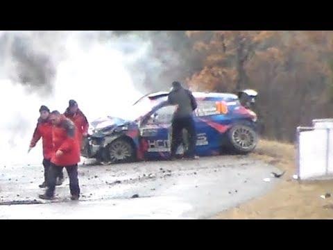 Rallye Monte-Carlo 2018 | Big Crash, Mistakes & lot of Show