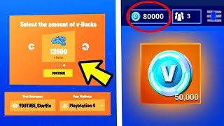 I TEST V-BUCKS FORTNITE BATTLE ROYALE! (SA MARCHE😱?)