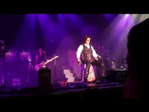 Alice Cooper Only Women Bleed Tilburg 05.12.2017
