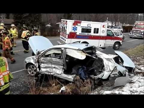 2 Vehicle Collision  Lehigh Township PA