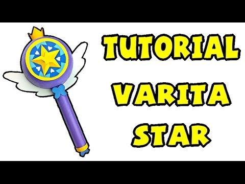 c mo hacer la varita de star   tutorial star vs las