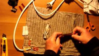 DISASSEMBLING ELECTRIC HEATING PADS