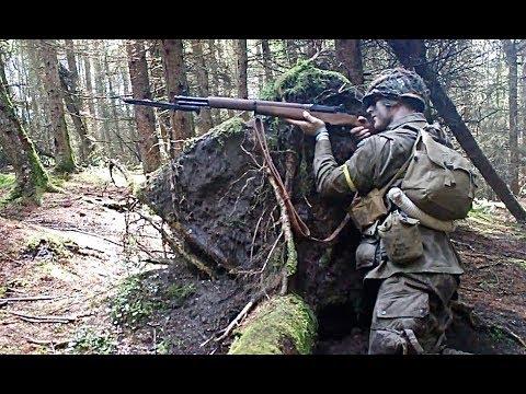 M1 Garand - EMG Arms Falkor Recce - Airsoft War in Scotland