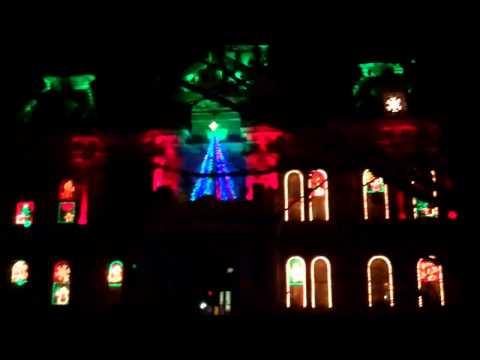 Cambridge Courthouse Festival Lights