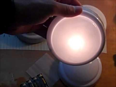 Maridian Tap Light.