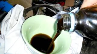 масло синтетика(гидрокряк) 5w-30 (после 3 часов при -30)