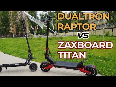 NEW! Сравнение электросамокатов Dualtron Raptor VS Zaxboard Titan