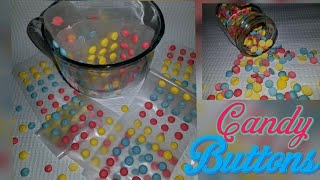 🥳Homemade Retro Candy Buttons from the 80's | 🍭Homemade Sprinkles