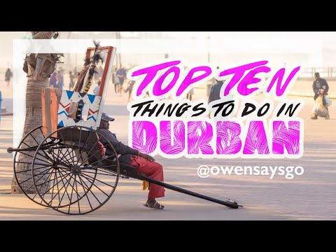 TOP 10 things to do in DURBAN!