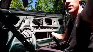 Comment remplacer le mécanisme de lève vitre sur Citroën ZX
