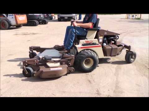 Grasshopper 725 ZTR lawn mower for sale | no-reserve Internet auction May 4, 2016