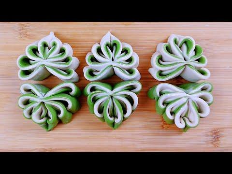 面点独家新做法,像菩提叶一样的花卷,简单漂亮,营养又美味