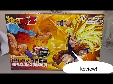 Dragonball Z Figure-rise Standard Model Kit : Super Saiyan 3 Son Goku