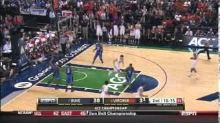 Tony Bennett - Virginia Basketball - Mover Blocker Offense vs Duke