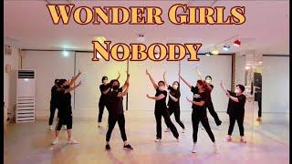 #전체거울모드 Wonder Girls(원더걸스) - Nobody(노바디)  전체안무 DANCE COVER (…
