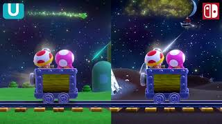 Captain Toad: Treasure Tracker - Switch Ending VS. Wii U Ending (Comparison)