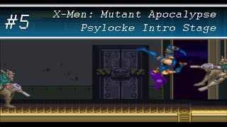 X-Men: Mutant Apocalypse Perfect Run - Psylocke Intro Stage