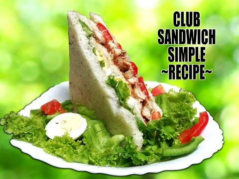 Club-Sandwich 🥪 | Simple&Quick Recipe | Mona's Food-Link | 😋