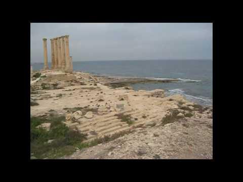 Sabratha ruins of Libya