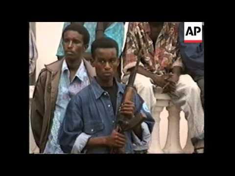 General Mohamed Farrah Aidid Somalia - General Aide...