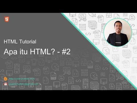 Apa Itu HTML? #2 HTML Tutorial [Indonesia]